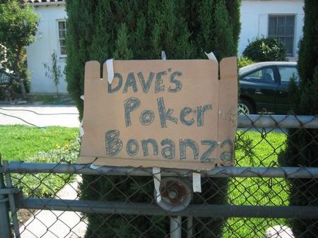 Dave's Poker Bonanza
